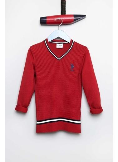 U.S.Polo Assn. Kazak Kırmızı